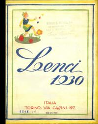 1930 Lenci Catalog [Catalogue of Dolls, Mascots, Toys, Over 300 Items Pictured, Dudovich Doll ...