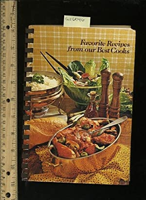 A Book of Favorite Recipes : Compiled By Manos De Amigas Chapter of the American Business Women&#...