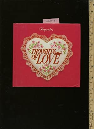 Keepsakes : Thoughts of Love [illustrated Poetry, Tokes of Love and affection, gift, Keepsake, ...