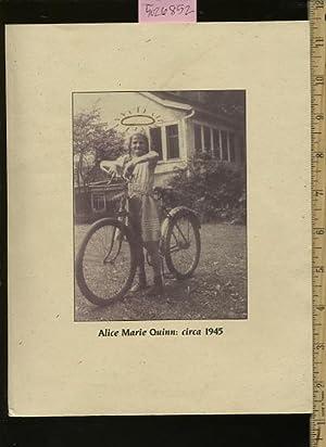 Alice Marie Quinn : Circa 1945 : Sister Alice Marie Quinn's 60th Birthday Celebration : ...