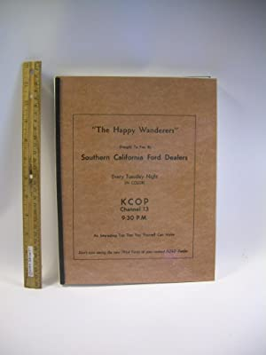 Happy Wanderers Travelogue [TV show presented these leaflets with maps, trail guide, and costs for ...