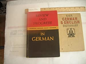 E . U. P. German and English Dictionary ; Review and Progress in German [collection of words in one...