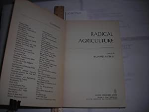 Radical Agriculture [Land Reform in America , Farming Industrial Change, Food and Culture, Rural ...