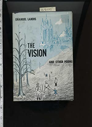 The Vision and Other Poems [poetry Compilation, 1960s Era Sentiments, Personal Reflections, culture...