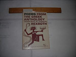 Poems from the Greek Anthology [Illustrated Poetry Reader, History of Oral Arts, Poets, Translation...