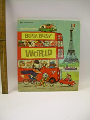 Richard Scarry's : Busy Busy World : 33 / Thirty Three Exciting Adventures for Girls and ...