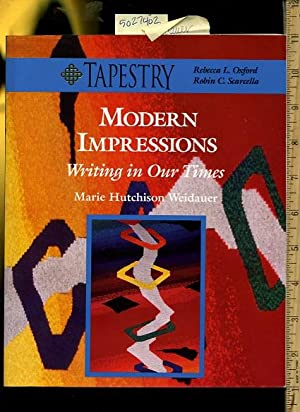 Tapestry : Modern Impressions : Writing in: Marie Hutchison Weidauer