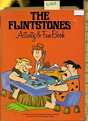 The Flintstones : Activity and Fun Book [unused Workbook, Games, Puzzles, Dot to Dot, Mazes, ...