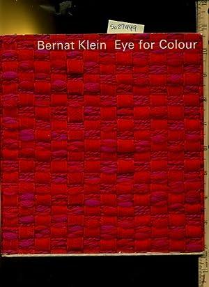 Bernat Klein : Eye for Colour / Color [industrial Cloth Biography, Yarn, Designing Fabrics, ...