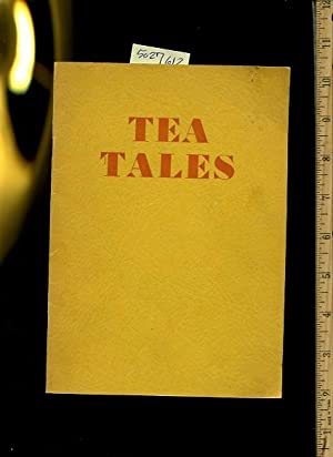 Tea Tales : French Room : Orrington Hotel [this is both a Menu and Explanation of all the Tea ...