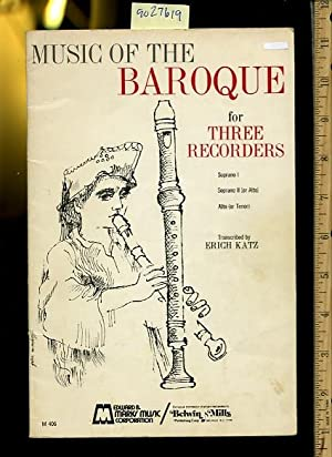 Music of the Baroque for Three /: Erich Katz /