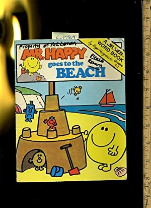 Mr. Happy Goes to the Beach [Pictorial Children's Reader, Learning to Read, Skill building]: ...