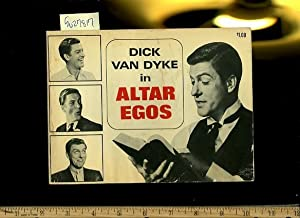 Dick Van Dyke in Alter Egos [A Book of Illustrated American Humor of the 1960s, Era Culture of the ...