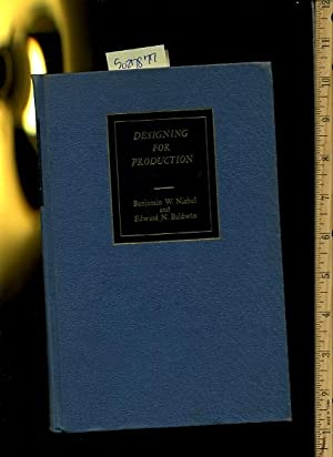 Designing for Production : 1963 Revised Edition [Critical / Practical Study ; Review Reference...