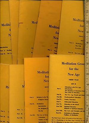 Meditation group for the New Age : First Year Set I II III IV V ; Second Year Set I II III ; Third ...