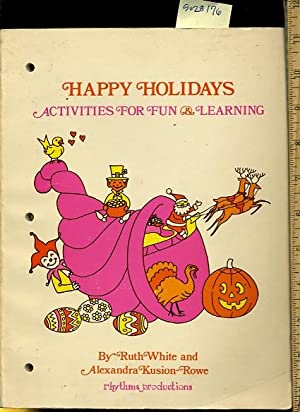 Happy Holidays : Activities for Fun and Learning [Pictorial Children's Reader, Learning to Read...