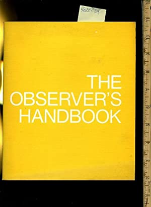 The Observer's Handbook : Man a Course Study [proper Discipline Forms in the Public Educational...