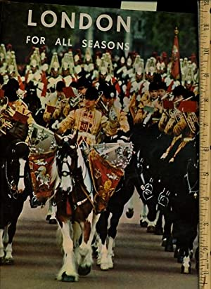 London for All Seasons [giant Pictorial Folio of Early 1970s London from a Photographers ...