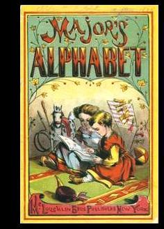 Major's Alphabet [Pictorial Children's Reader, Learning to Read, Skill Building, Replica ...