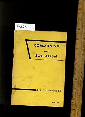 Communism and Socialism : Minutes of the First German Evangelical Lutheran Congregation UAC at ...