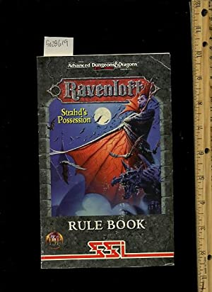 Advanced Dungeons and Dragons : 2nd Edition : Ravenloft : Strahd's Possession : Rule Book SSO ...
