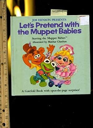 Jim Henson Presents Let's Pretend with the Muppet Babies : a Gatefold Book with Open the Page ...