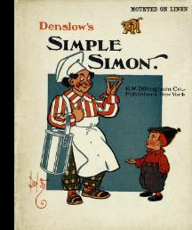 Denslow's Simple Simon [Pictorial Children's Reader, Learning to Read, Skill Building, ...