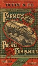 Deere and Co. Farmer's Pocket Companion : Moline Illinois 1884 : Plows and Cultivators : ...