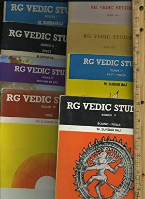RG Vedic Studies : Series I / 1 / One ; Series III / 3 / Three Time ; Series IV...