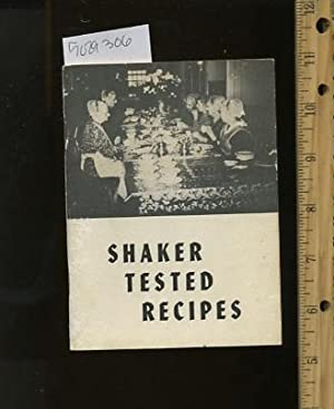 Shaker tested Recipes : Favorite Shaker Recipes : Compiled and Tested [A Cookbook / Recipe ...