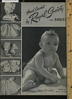 Hand Crochet By Royal Society for Babies : Book No. 2 / Two [pictorial patterns, How to ...