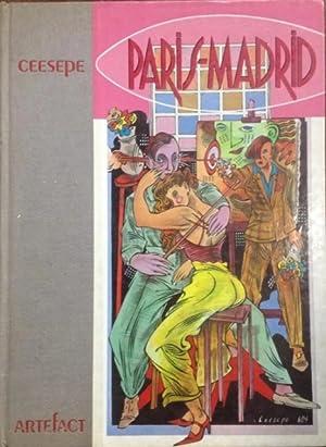 Ceesepe : Paris - Madrid [oversized Pictorial Folio of Ceesepe's Works, Paintings, ...