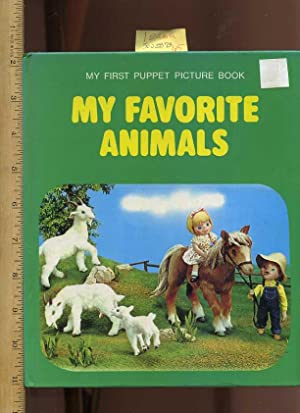 My First Puppet Picture Book : My Favorite Animals [Pictorial Children's Reader, Fabulous ...