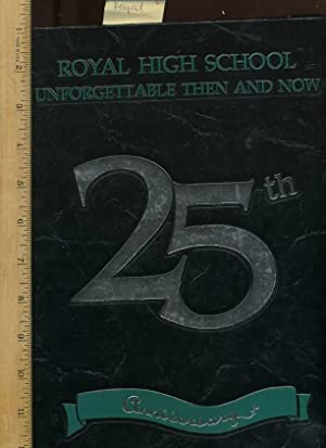 1993 Cruachan : Royal High School, Volume 25, Unforgettable Then and Now 25th Anniversary Golden ...