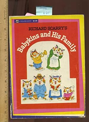Richard Scarry's Babykins and His Family [Pictorial Children's Reader, Cat Story and His ...