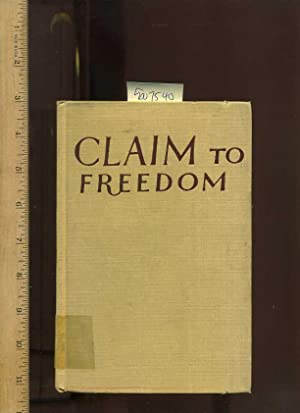 Claim To Freedom : The Rise Of The Afro Asian Peoples [maps and Photos, Western Mix, Cultural and ...