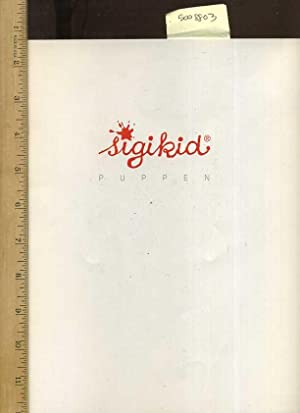 Sigikid Puppen, Dolls, Des Poupees, Bambole 1995 Catalog / Catalogue [oversized Pictorial ...