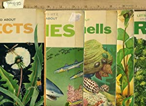 Let's Read About : Insects ; Fishes ; Sea Shells ; Flowers ; Trees [5 Bks, Webster Classroom ...