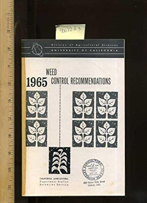 1965 Weed Control Recommendations [farms, Farmers, Farming, Agriculture Development Techniques, ...