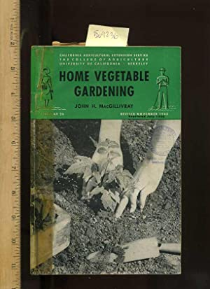 Home Vegetable Gardening : Revised , Circular 26 [farms, Farmers, Farming, Agriculture Development ...