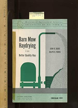 Barn Mow Haydrying for Better Quality Hay , Circular 454 [farms, Farmers, Farming, Agriculture ...