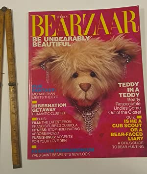 Teddy's Bearzaar : Be Unbearably Beautiful [parody of Harper's Bazaar for Teddy Bear Lovers...