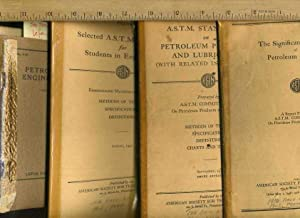 4 Bks Similar subject] Petroleum Engineering : Lefax Data Sheets ; the Significance of Tests of ...