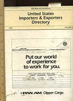 United State Importers and Exporters Directory : 1990, Volume 2 [giant Tome, Listed By Import, ...