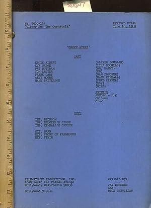 script] Green Acres : No. 8000-124 : Oliver and the Cornstalk : Revised Final June 16, 1969: ...