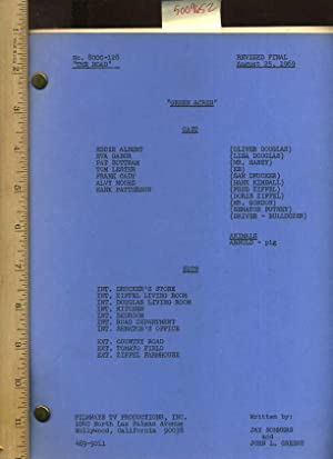 script] Green Acres : No. 8000-128 : The Road : Revised Final August 25, 1969: Sommers, Jay and ...