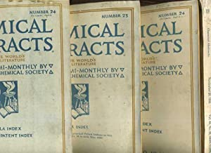 Chemical Abstracts L Dey to the World's Chemical Literature, Formula Index, Numerical Patent ...