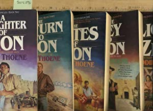 5 Book set/series] The Zion Chronicles: The Gates of Zion #1 / A Daughter of Zion #2 / The Return ...