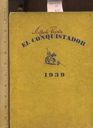 El Conquistador 1945 : Del Rio Texas [Oversized Pictorial, Students, Defense, War, Armed forces]: ...