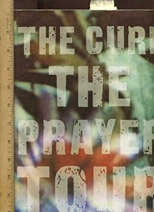 The Cure : The Prayer Tour : August 20th - September 23rd 1989 [oversized Pictorial Folio with Note...